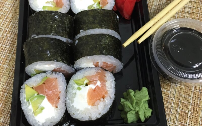 Ролл «Самурай чиз авокадо»