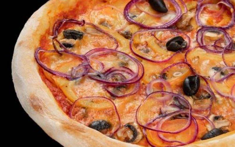 Пицца «Овощи и грибы»