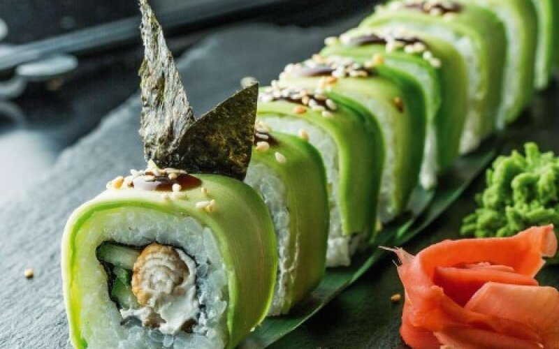 Урамаки «Зелёный дракон»
