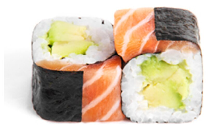 21 Хосомаки Sake Avokado Maki