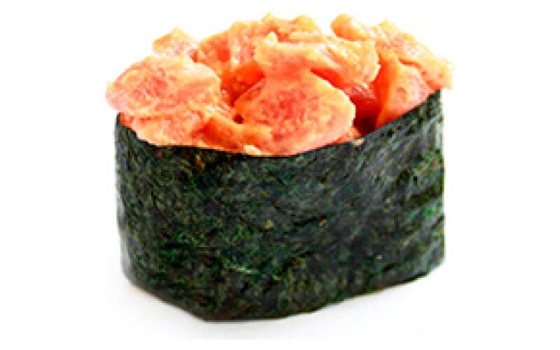 08 Гункан Spicy maguro