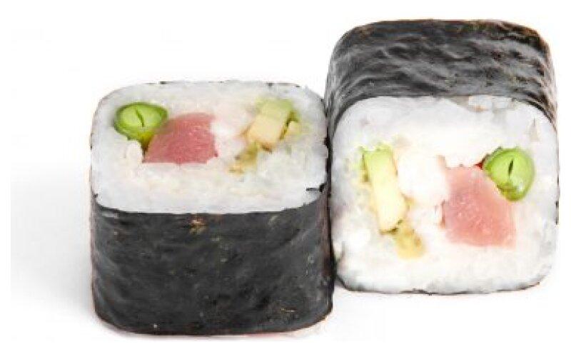 57 Урамаки Ebi Tuna Maki