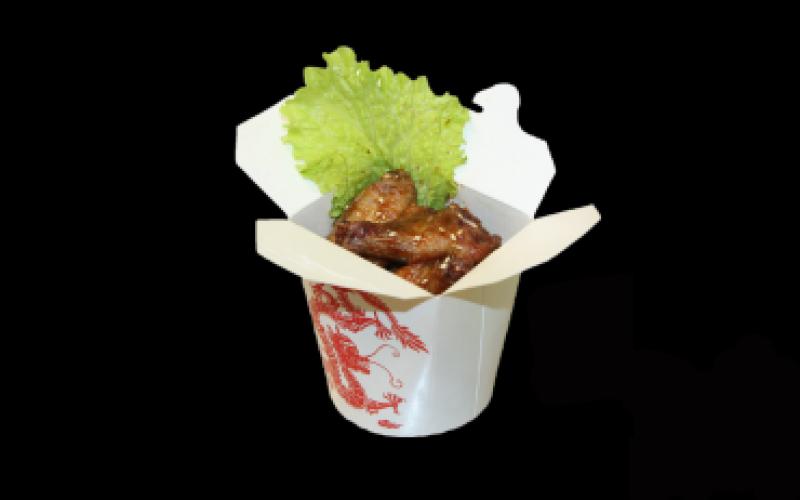 Куриные крылышки «Баффало»в соусе