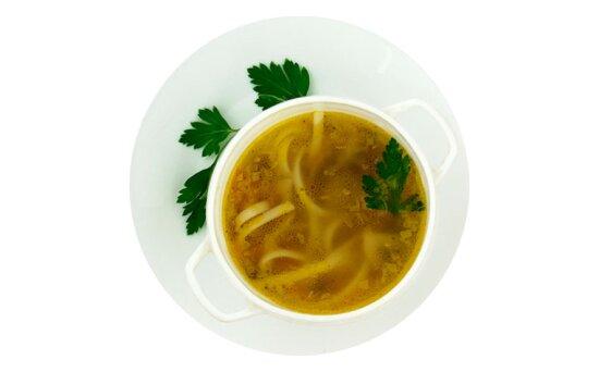 Суп-лапша «Домашняя» с грибами