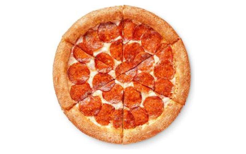 Пицца «Двойная пеперони» на традиционном тесте