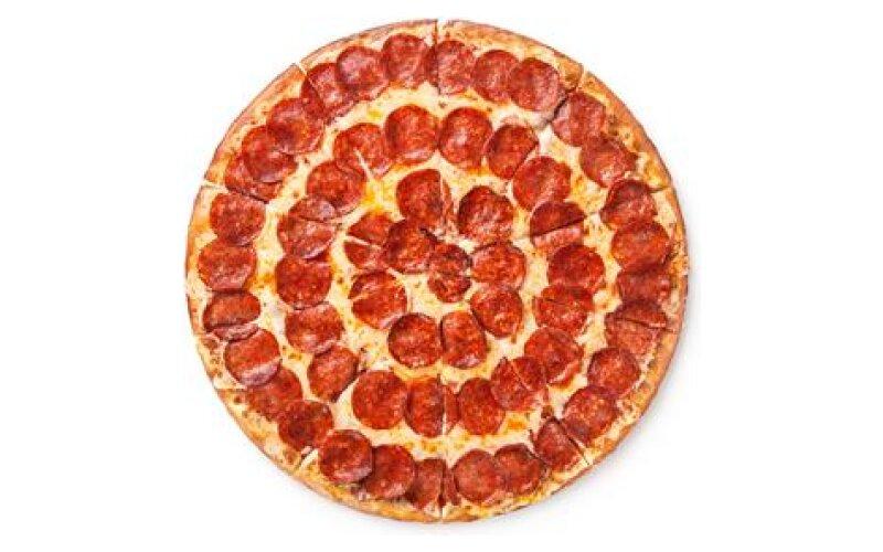 Пицца «Двойная пеперони» на тонком тесте