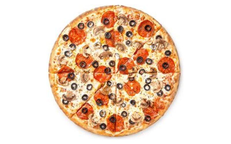 Пицца «Итальянская» на тонком тесте