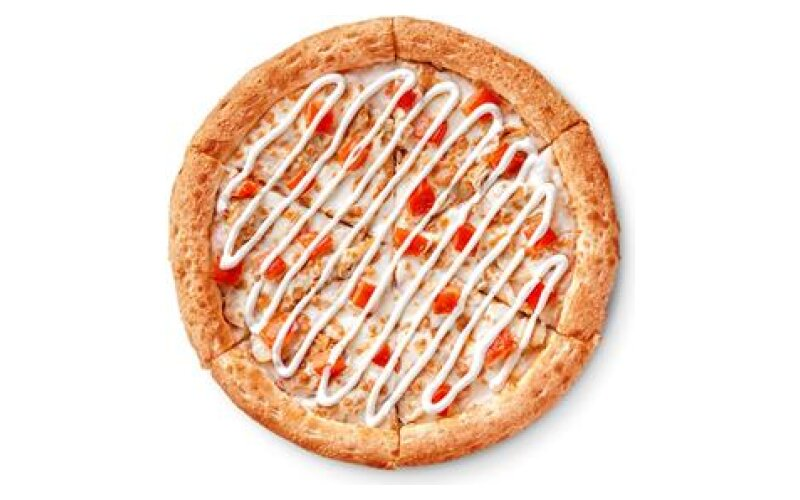 Пицца «Цыплёнок ранч» на традиционном тесте