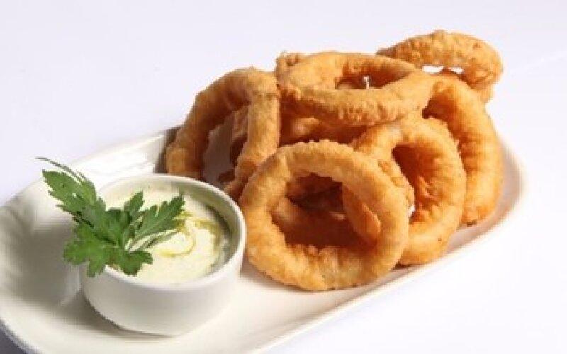 Кольца луковые + соус «Барбекю»
