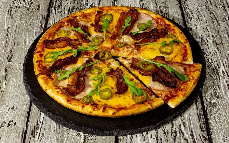 Пицца «Мексиканская» (острая)