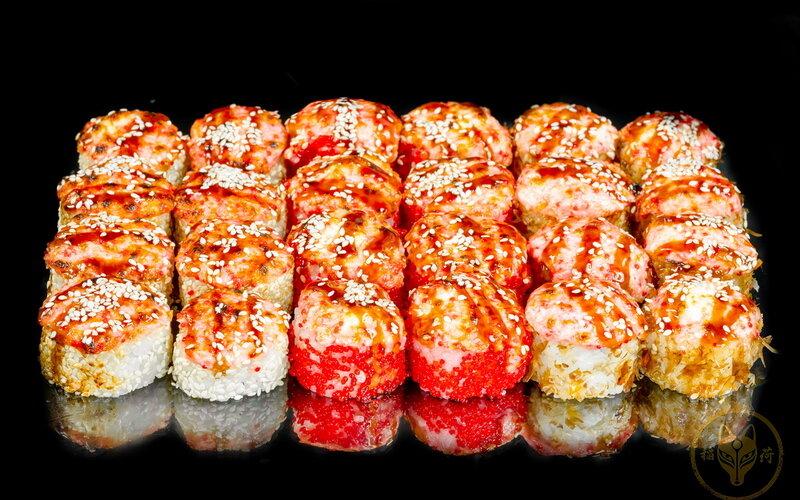 Запечённый суши-сет