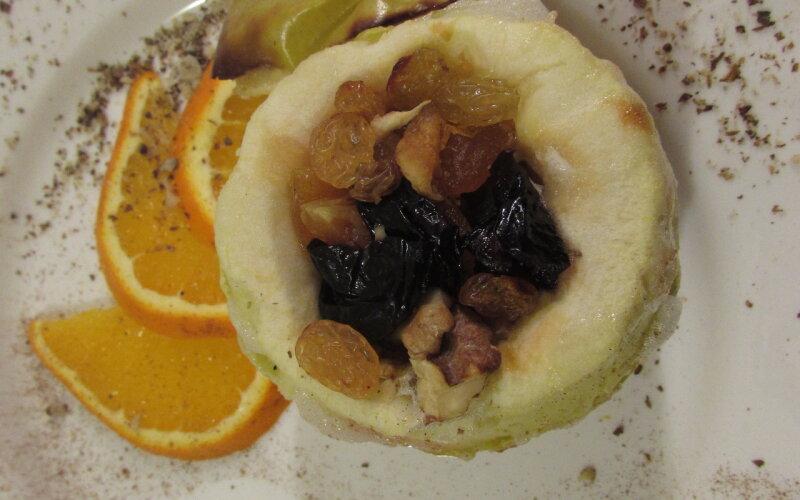 Яблочко, запечённое в печи