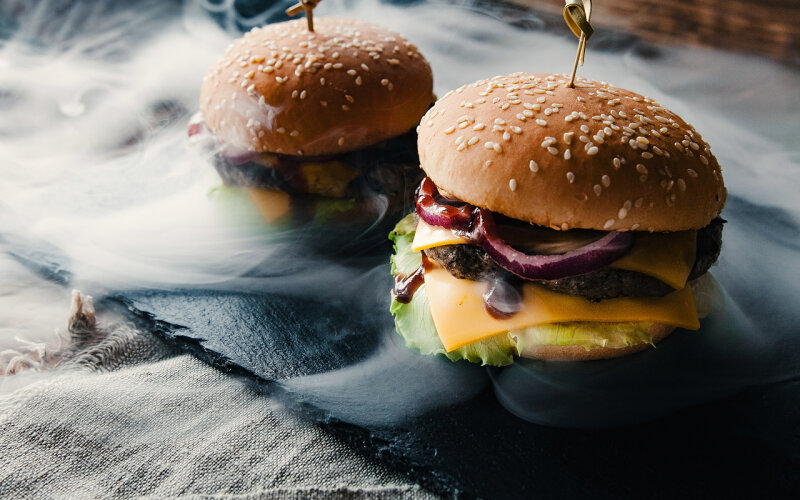 Бургер «Говяжий пепел»