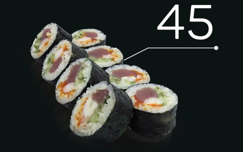 Ролл «Дабл Fish»