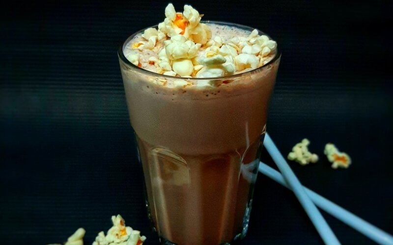 Какао-попкорн