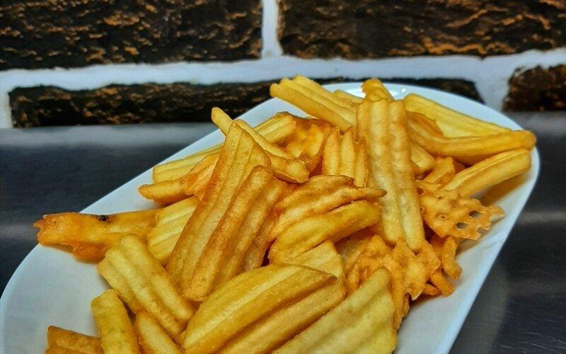 Картофель фри в панировке