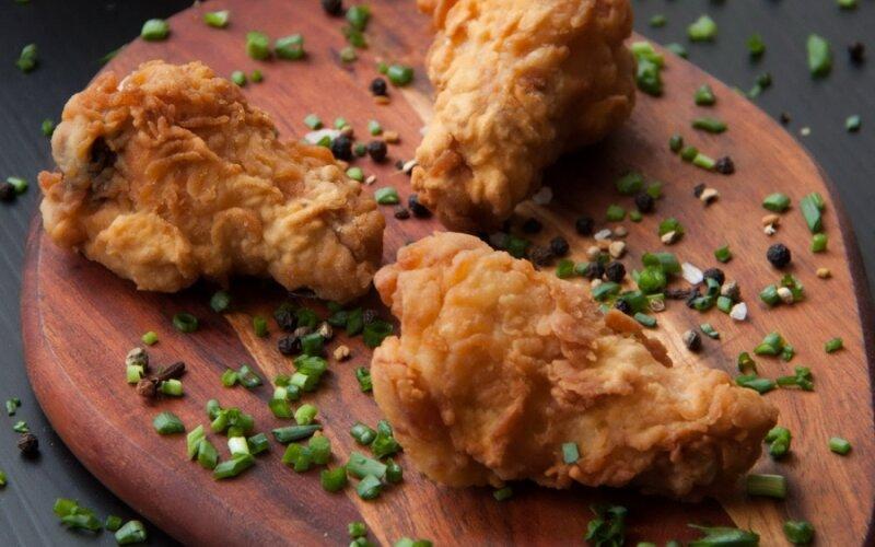 Крылышки куриные классические + соус
