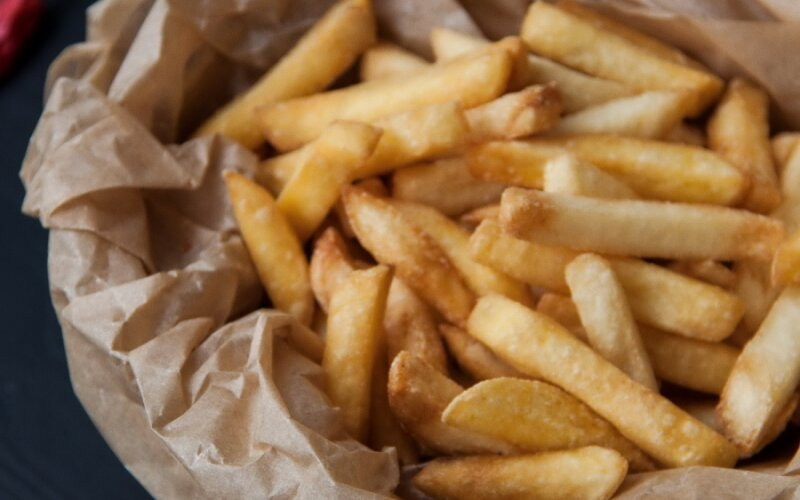 Картофель фри + соус