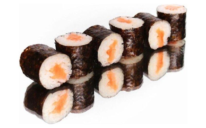 Хосомаки с лососем