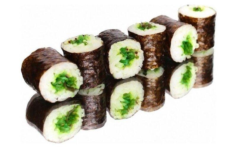 Хосомаки с чука-салатом