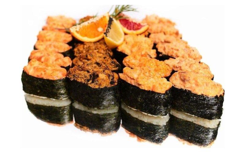 Суши-сет из гунканов
