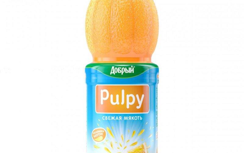 """Напиток «Добрый """"Палпи""""» апельсиновый"""