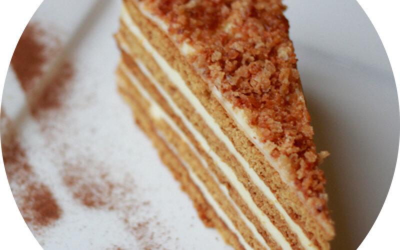 Торт «Медовик домашний»