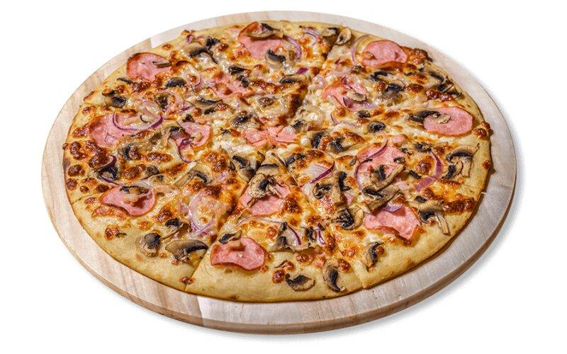 Пицца «Карбонара Delux»