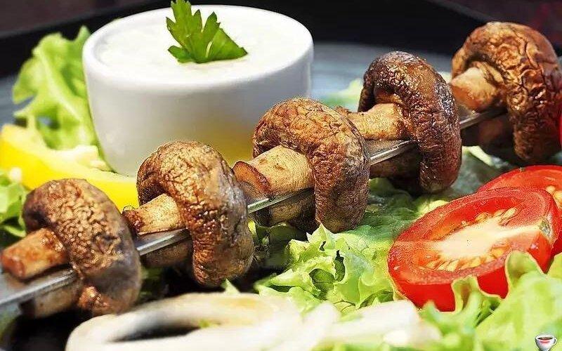 Шампиньоны гриль (весовое блюдо)