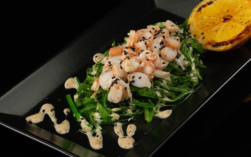 Салат «Чука» с креветками