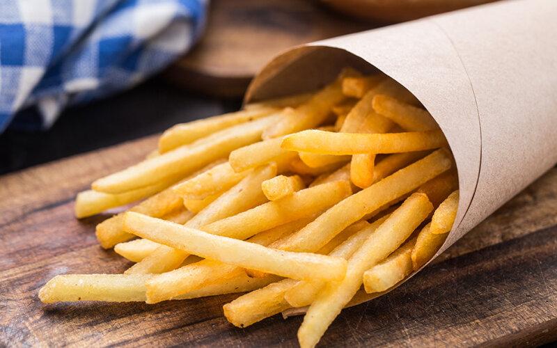 Картофель фри соломкой