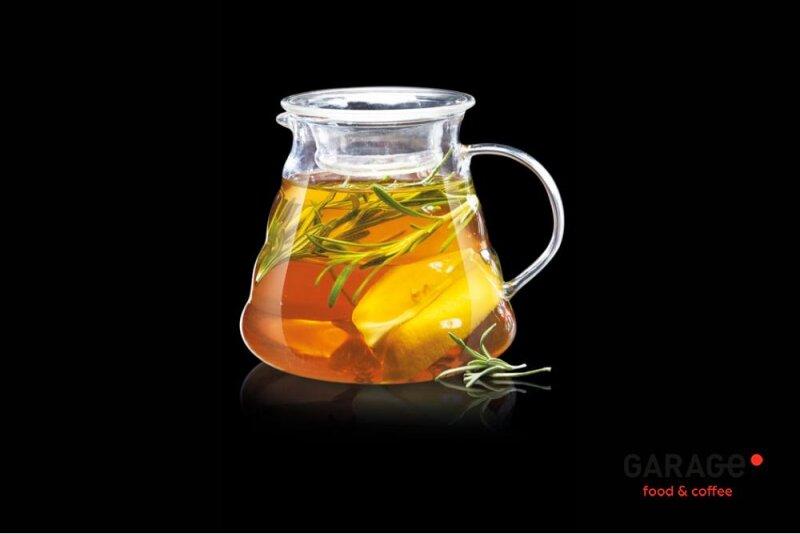 Имбирный чай с мёдом и розмарином