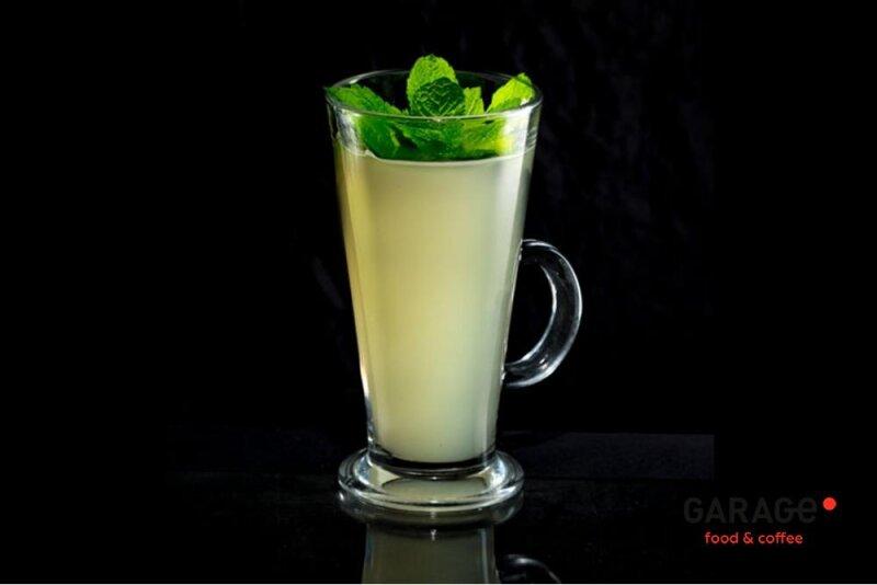Имбирный чай смятой