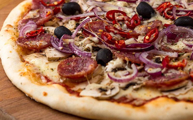 Пицца «Сицилийская»