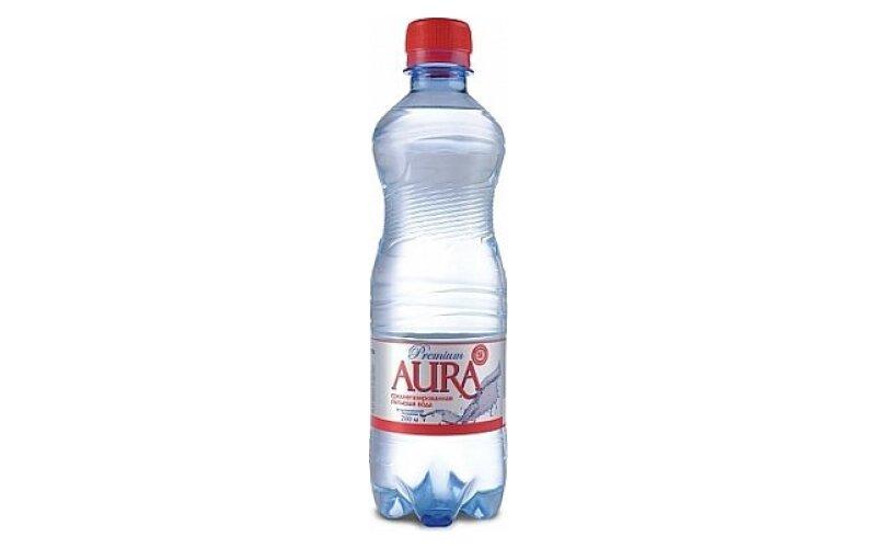 Вода питьевая «Aura» газированная