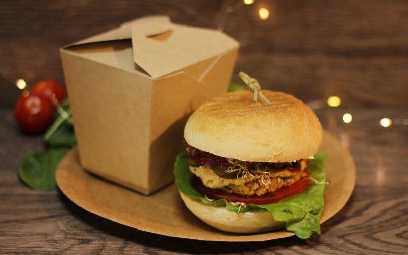 Бургер box «Стандарт-веган»