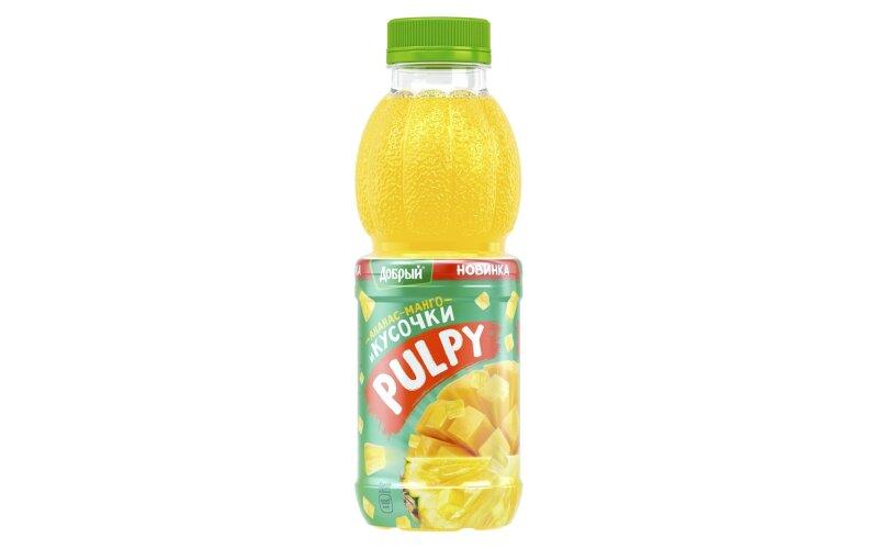 "Напиток «Добрый ""Палпи""» ананас + манго"