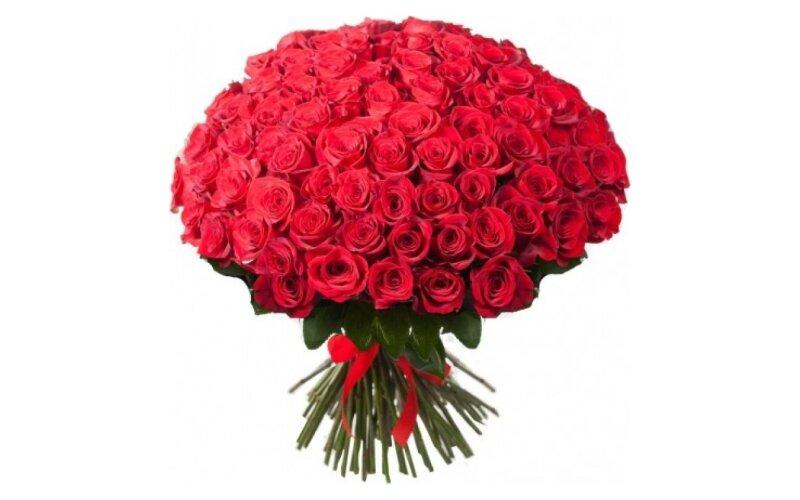 Букет «101 красная роза»