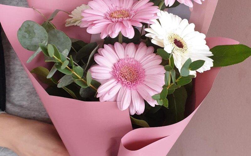 Букет цветов «Гербера»