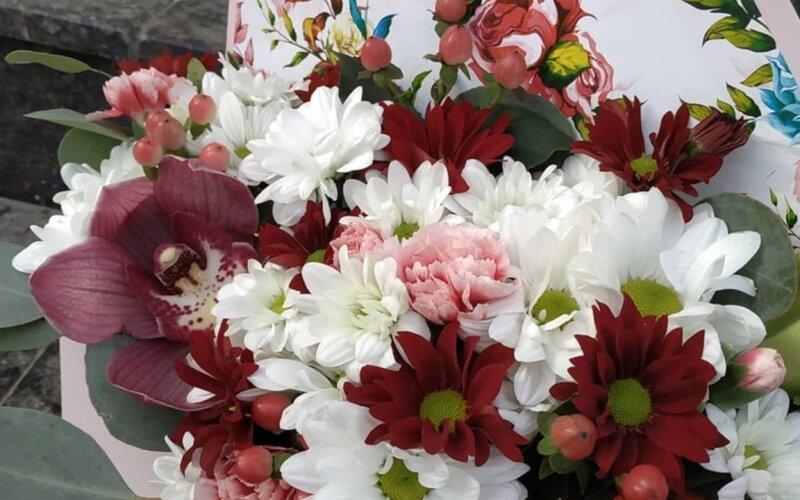 Конверт с цветами «Слова любви»