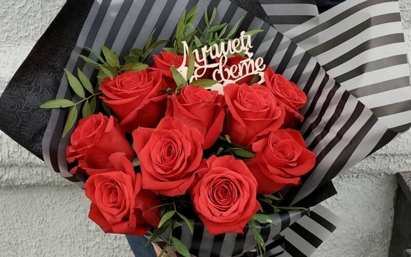 Букет «Ред Роуз»