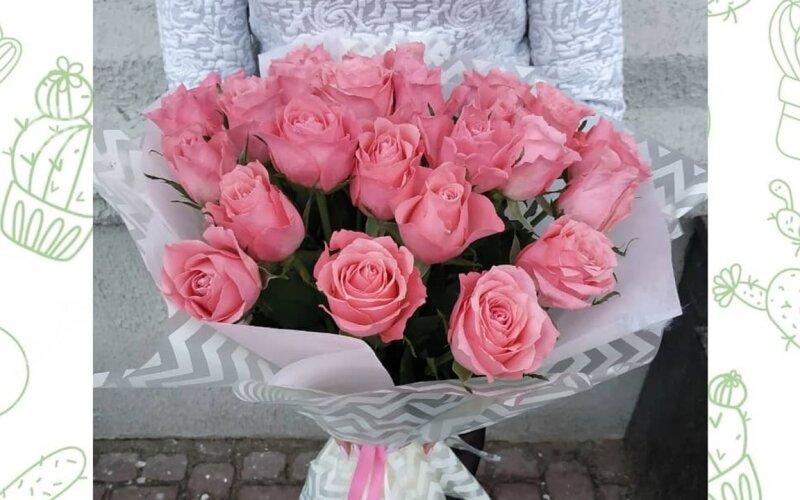 Букет из роз «Счастье»