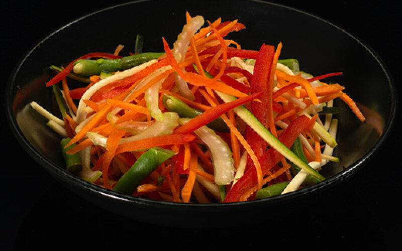 Рис с чернилами WOK овощная