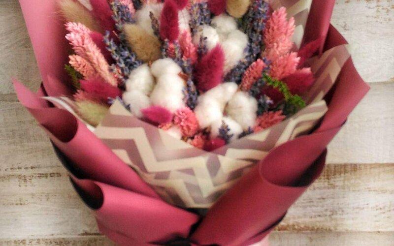 Букет из сухоцветов #1