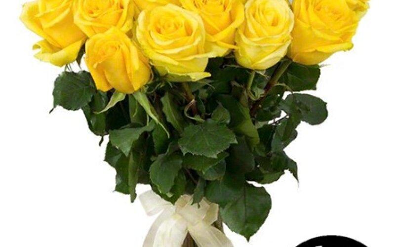 Букет «Желтые розы»