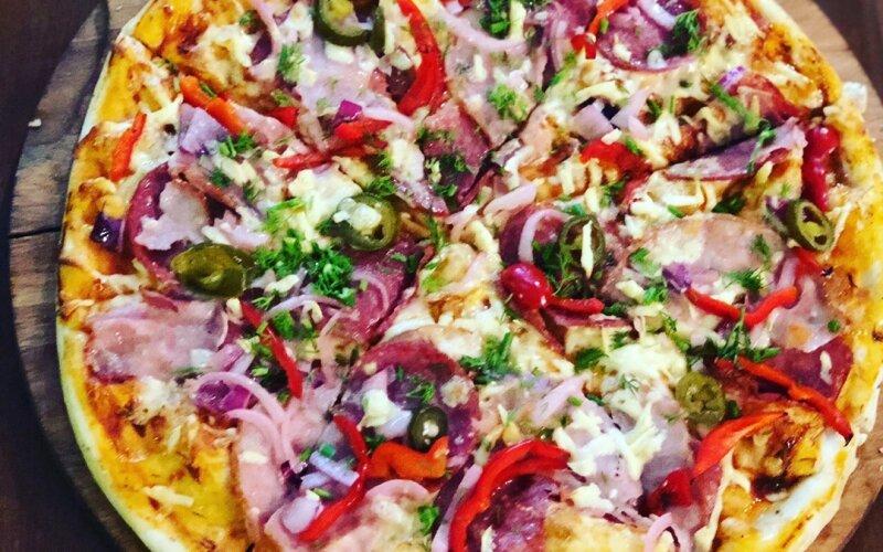 Пицца «Мексиканская» острая