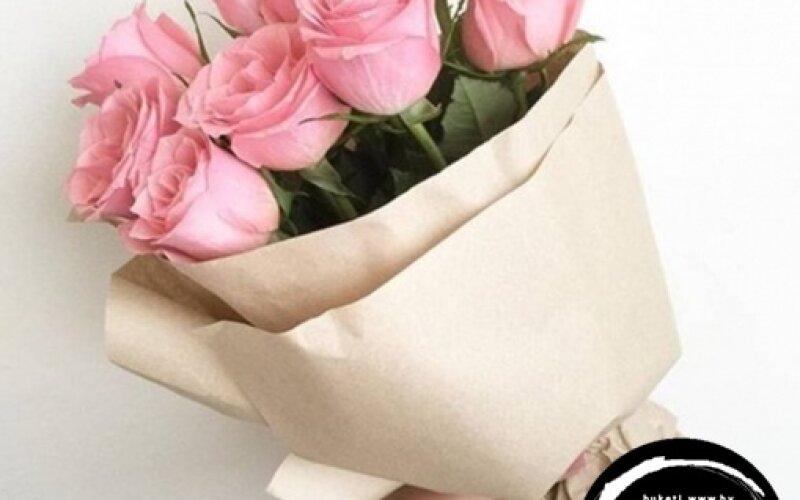 Букет «Розовые розы»