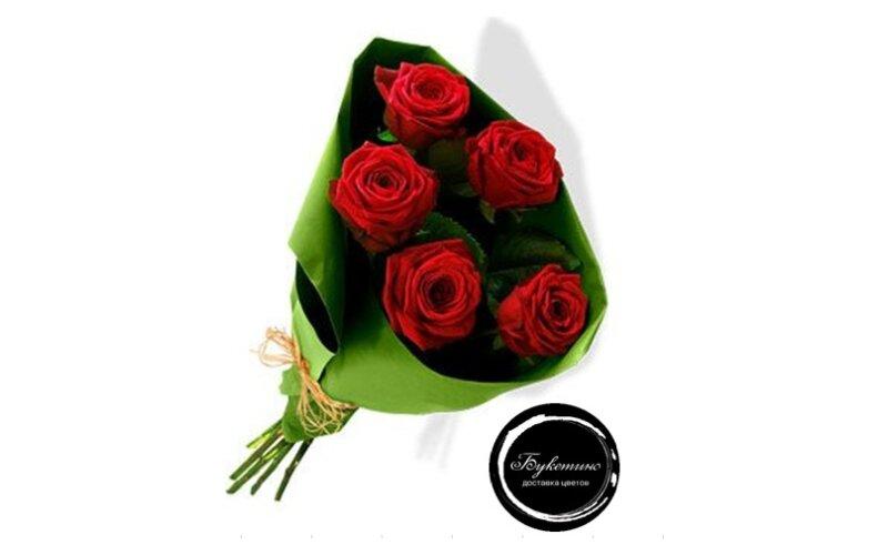 Букет «Букет из 5 роз»