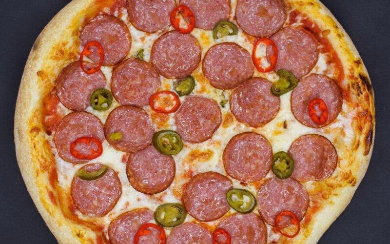 Пицца «Пеперони хот»