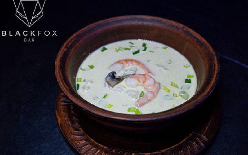 Суп «Том Ям» с креветками